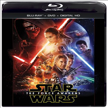 Star Wars: The Force Awakens (��Ÿ����: �� ����)(�ѱ۹��ڸ�)(Blu-ray + DVD + Digital HD)