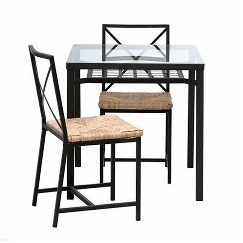 이케아 GRANAS 테이블+의자2
