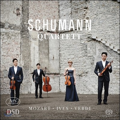 Schumann Quartett 모차르트 / 찰스 아이브스 / 베르디: 현악 사중주 (Mozart / Charles Ives / Verdi: String Quartets) 슈만 스트링 콰르텟