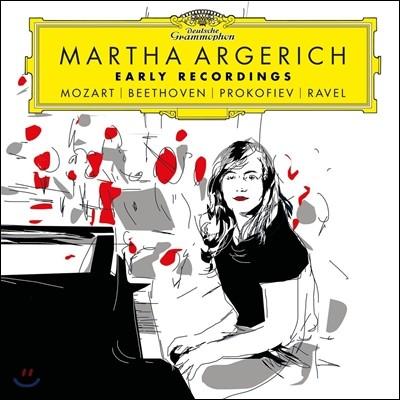 마르타 아르헤리치 1960년 미발매 방송녹음 - 모차르트 / 베토벤 / 프로코피에프 / 라벨 (Martha Argerich Early Recordings - Mozart / Beethoven / Prokofiev / Ravel)