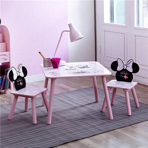 디즈니 미니캐릭터 테이블의자 세트