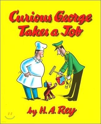 [베오영]Curious George Takes a Job (Paperback & CD Set)