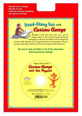 Curious George and the Puppies (Book+CD)