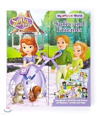 Sofia The First & Friends My Magical World Story Book Play Set