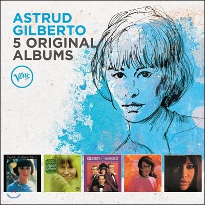 Astrud Gilberto (아스트루드 질베르토) - 5 Original Albums with Full Original Artwork