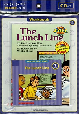 Scholastic Hello Reader Level 3-09 : The Lunch Line (Book+CD+Workbook Set)
