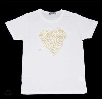 SM Town 동방신기 하트 티셔츠 (올멤버)