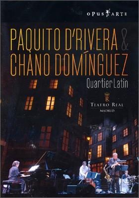 파쿠이토 드리베라 & 차노 도밍구에스: 감동적인 라틴 재즈 공연