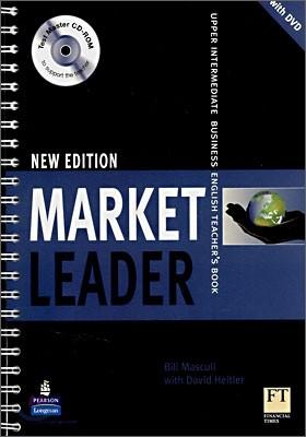 Market Leader Upper Intermediate Business English (New Edition) : Teacher's book with DVD