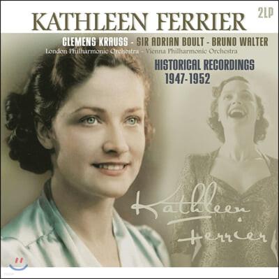 Kathleen Ferrier 캐슬린 페리어 1947-1952년 히스토리컬 레코딩 (Historical Recordings 1947-1952) [2LP]