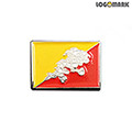 부탄 국기 뺏지