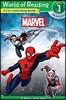 World of Reading : Marvel Marvel 3-in-1 Listen Along Reader