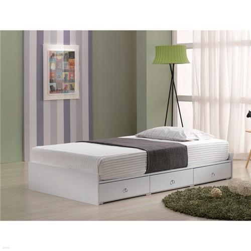 로렐 서랍수납형 슈퍼싱글침대 통깔판침대 침대프레임
