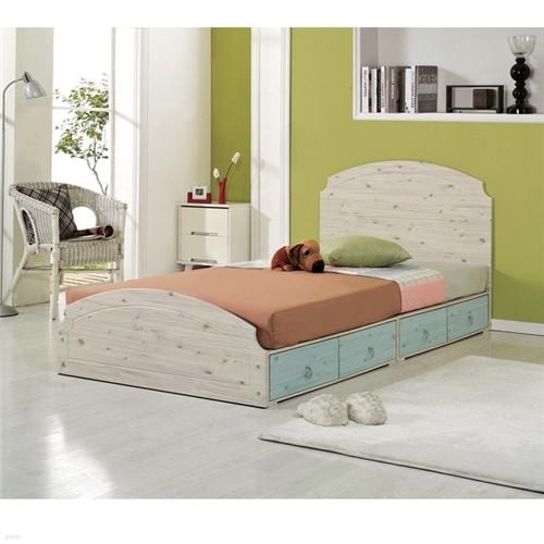 로렐 서랍수납형 헤드 슈퍼싱글침대 통깔판침대 침대프레임