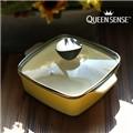 퀸센스 유로피안 사각파스텔 세라믹냄비 16cm(CN6499)