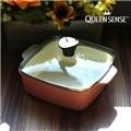 퀸센스 유로피안 사각파스텔 세라믹냄비 18cm(CN6500)