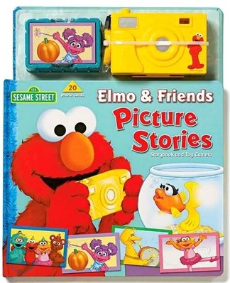 Elmo & Friends Picture Stories : Storybook & Camera
