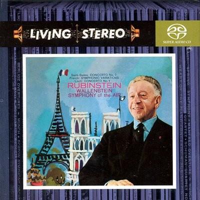 생상 : 피아노 협주곡 2번 / 프랑크 : 교향적 변주곡 - 루빈스타인 (SACD)
