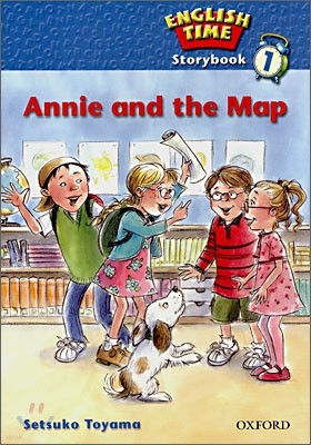 English Time 1 : Story Book (Annie and the Map)