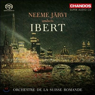 Neeme Jarvi 네메 예르비가 연주하는 자크 이베르: 교향모음곡 '파리', '기항지', 디베르티스망, 둘시네아를 위한 사라방드 (Conducts Jacques Ibert: Escales, Divertissement, Paris)