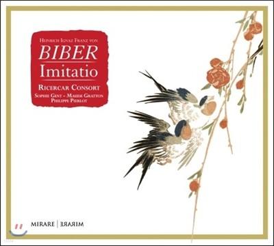 Ricercar Consort  모방 - 비버 / 슈멜처 / 케를: 표제음악과 환상양식 작품집 (Heinrich Ignaz Franz von Biber: Imitatio) 리체르카르 콘소트