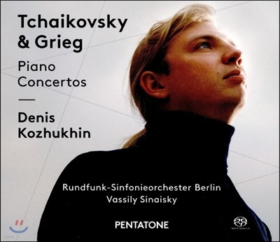 Denis Kozhukhin 차이코프스키 / 그리그: 피아노 협주곡 (Tchaikovsky / Grieg: Piano Concertos) 데니스 코츠킨, 바실리 시나이스키