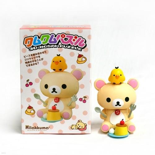 코리락쿠마-달콤한 푸딩[쿠무쿠무퍼즐](KM 40)