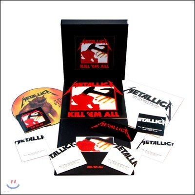 Metallica (메탈리카) - Kill 'Em All [4LP+5CD+1DVD 2016 Remastered Deluxe Box Set]