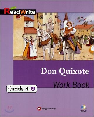 Extensive Read Write Grade 4-4 : Don Quixote Work Book