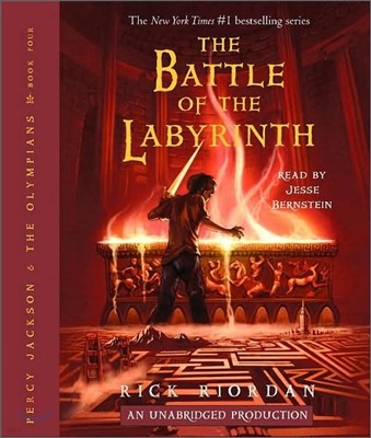 Percy Jackson and the Olympians #4 : The Battle of the Labyrinth (Audio CD)