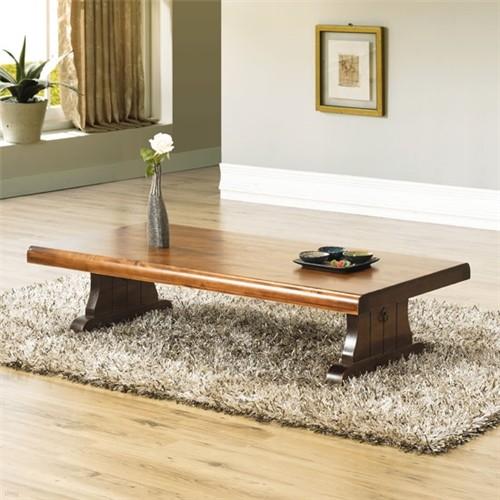 [채우리] 가람 소나무 원목좌탁 1200