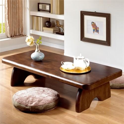 [채우리] 마루 소나무 원목좌탁 1200