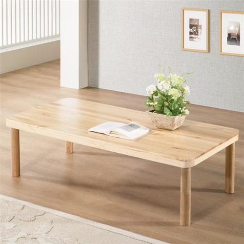 [채우리] 미리내 소나무 원목좌탁 1200