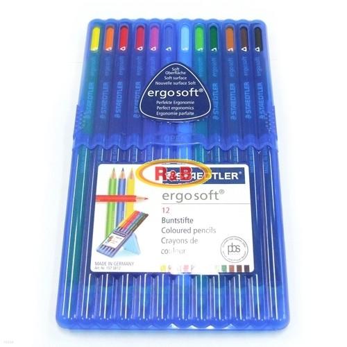 [알앤비]스테들러 에고소프트 157 12색 색연필세트