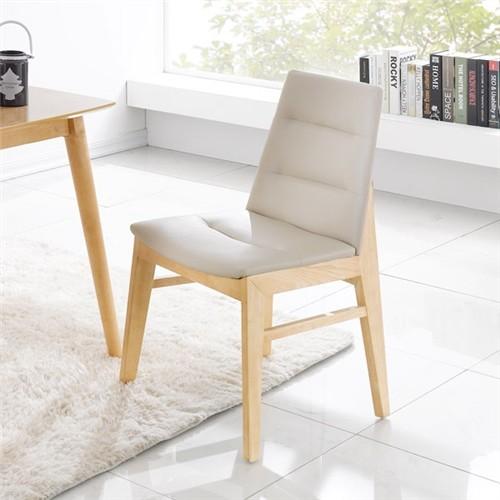 [끄망메블루] 무슈 원목 식탁 의자