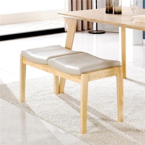 [끄망메블루] 일루쏘2 원목 벤치 의자