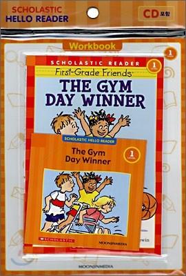 Scholastic Hello Reader Level 1-35 : The Gym Day Winner (Book+CD+Workbook Set)