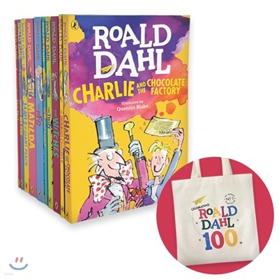 Roald Dahl 10 Books Collection + 에코백 증정