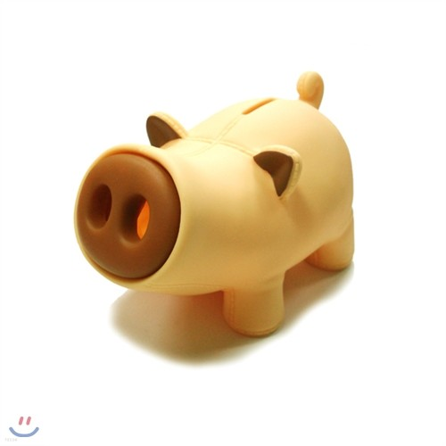 썸크 돼지 저금통 - 베이지(BOX)