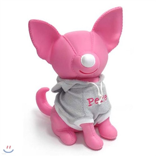 썸크 티셔츠강아지 저금통 - PEPE(핑크)