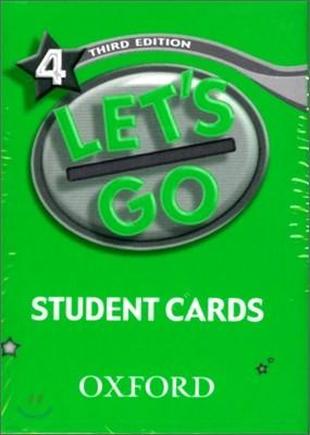 [3판]Let's Go 4 : Student Cards