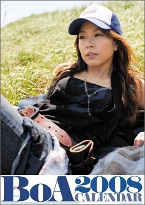 보아 (BoA) - BoA 2008 캘린더 (벽걸이형)