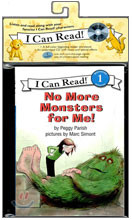 [I Can Read] Level 1-15 : No More Monsters for Me! (Book & CD)