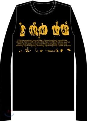 동방신기 콘서트 티셔츠 (블랙)