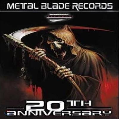 V.A. / Metal Blade Records - 20Th Anniversary (9CD + 1DVD/미개봉)
