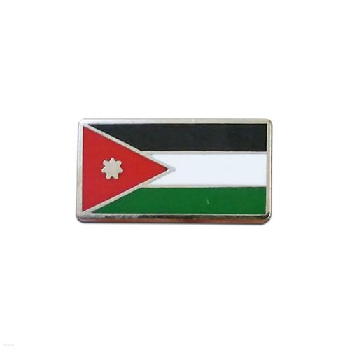 요르단 국기 뺏지