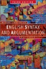 English Syntax and Argumentation, 3/E