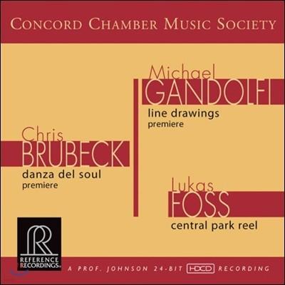 Concord Chamber Music Society 크리스 브루벡 / 마이클 간돌피 / 루카스 포스 (Chris Brubeck / Michael Gandolfi / Lukas Foss) 콩코드 챔버 뮤직 소사이어티