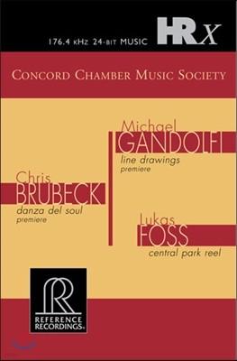 Concord Chamber Music Society - Brubeck, Gandolfi, Foss