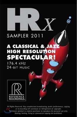 PC-FI용 HRX 샘플러 (HRX Sampler 2011 - A Classical & Jazz High Resolution Spectacular!)
